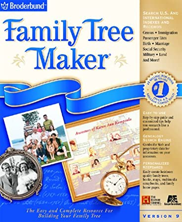 Family Tree Maker 9.0 [OLD VERSION]