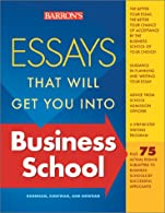 Essays That Will Get You into Business School  by Kaufman
