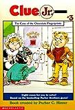 The Case of the Chocolate Fingerprints (Clue Jr. #3)