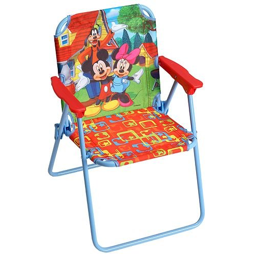 Amazon.com - Disney Mickey Mouse and Friends Folding Chair by Kids