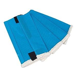 Shoo Fly Leggins for Horses - Set of 4 Medium Blue