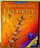 Holt, Rinehart & Winston: Geometry, Annotated Teachers Edition