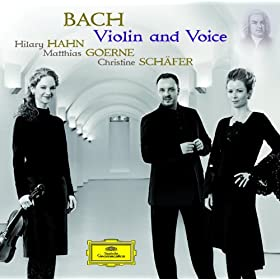 Bach - Violin And Voice