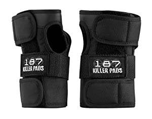 187 Killer Wrist Guards - Made by 187 Killer Pads for Roller Derby Skaters, Roller... by 187 Killer Pads