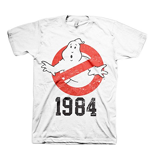 Ghostbusters -  T-shirt - Uomo bianco Small