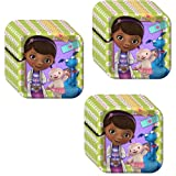 Disney Doc McStuffins Party Dessert Plates - 24 Pieces