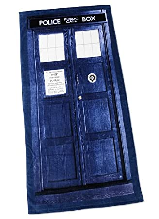 Dr Who 30 X 60 TARDIS Beach Towel
