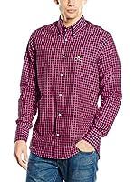 POLO CLUB Camisa Hombre Academy Trend (Fucsia)