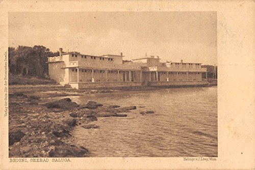 brioni-yugoslavia-seebad-saluga-brijuni-antique-postcard-j21305