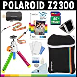 Polaroid Z2300, appareil photo numérique de 10 MP à impression instantanée. KIT D'ACCESSOIRES : avec une carte de 16 Go + sacoche + trépied + papier Zink (60 feuilles) + sangles + kit d'accessoires