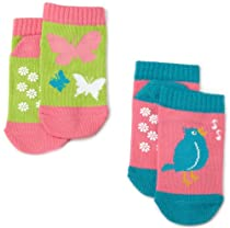 Hatley 2 Pairs Spring Song Infant Socks, Multi, 0-12 Months