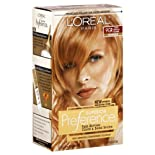 L'Oreal Superior Preference Fade-Defying Color and Shine System, Level 3, Permanent, Warmer, 9GR Light Reddish Blonde
