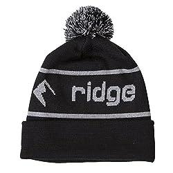 Ridge Merino Men's Ridge Beanie One Size Black