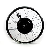 Electric Bicycle Rear Wheel Conversion Kit 48V 1000W 20MPH Top Speed ELBIKEKIT