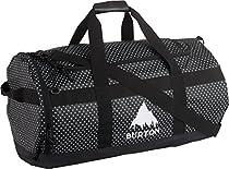 Burton Backhill Duffel Bag - 5492cu in Black Polka Dot Tarp, One Size