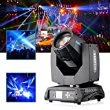 Roccer 7R DJ Moving Head Stage Light Beam 230w Stage Lighting Clamp Disco Lights for Party 1pcs