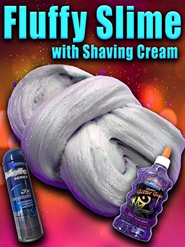 Clip: Fluffy Slime with shaving cream