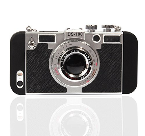 iPhone 6/6s Case, Classic 3D Vintage Style Camera shape Rugged Shockproof Heavy Duty Body Armor Case Bumper Non Slip Surface with Excellent Grip Case and Stand (Iphone 6 Vintage Case compare prices)