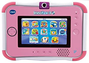 VTech InnoTab 3S with Rechargeable Battery Pack (Pink)