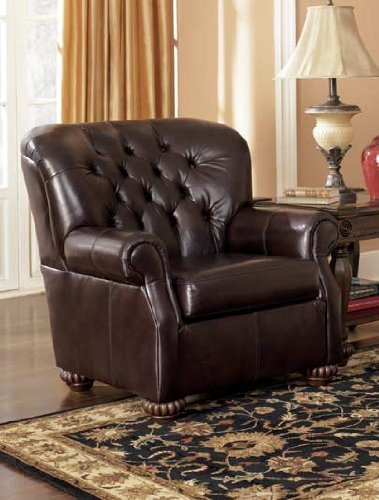 Brentwood - Mahogany Accent Chair by Ashely Furniture