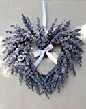 Deko Lavendelherz