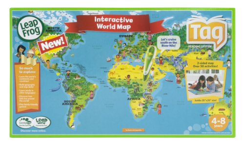 Comprar mejores leapfrog tag mapas mundial mapas online blog leapfrog tag maps world gumiabroncs Images