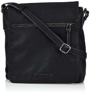 Esprit Zora Medshldbag, Sac bandoulière - Noir (001 Black), Taille Unique
