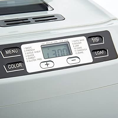 Wolfgang Puck 2lb. Programmable Electronic Breadmaker BBME0070