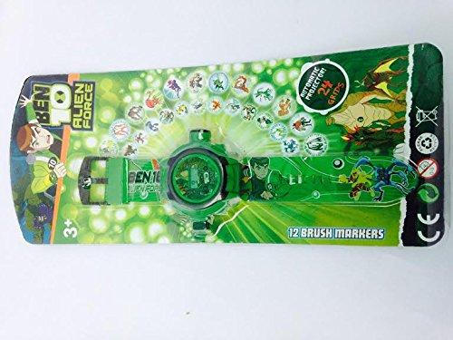 ZDelhi 24 Images Ben 10 Projector Watch (Green)