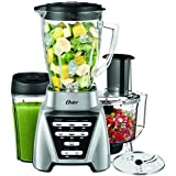 Oster Pro 1200 Blender 2-in-1 with Food Processor Attachment and XL Personal Blending Cup
