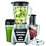 Oster Pro 1200 Blender 2-in-1 with Fo...