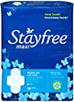 Stayfree Maxi Pads for Women with Win...