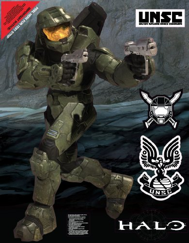 Wall Graphix: Masterchief With Badge 23 x 29 blouse with belt color sky blue