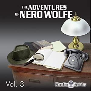 Adventures of Nero Wolfe Vol. 3 Radio/TV Program