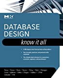 img - for Database Design: Know It All: Know It All book / textbook / text book