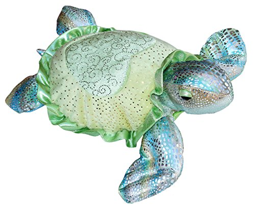 "Sea Sparkles Tamara Green Sea Turtle Small 7"" by Aurora"