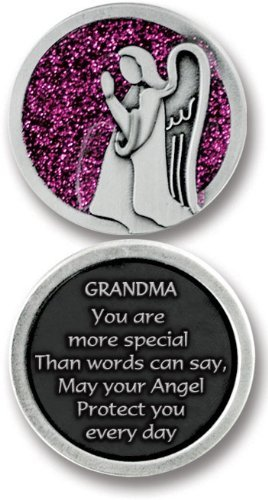 GUARDIAN Angel POCKET Token for GRANDMA -Grandmother - 1.25