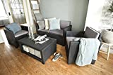 Allibert-Lounge-Set-Monaco-Grau-4-teilig