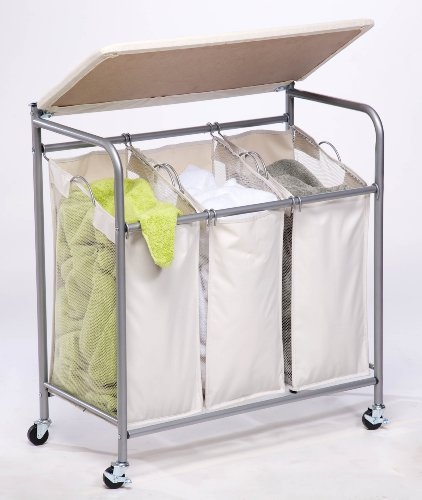 honey can do srt 01196 rolling ironing and sorter combo laundry center new ebay. Black Bedroom Furniture Sets. Home Design Ideas