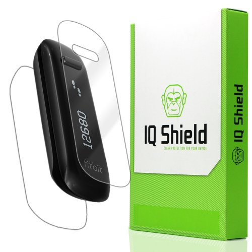 Iq Shield Liquidskin - Fitbit One Screen Protector + Full Body (Front And Back) - High Definition (Hd) Ultra Clear Watch Smart Film - Premium Protective Screen Guard - Extremely Smooth / Self-Healing / Bubble-Free Shield - Kit Comes With Retail Packaging front-427810