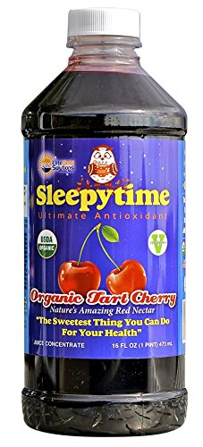 #1 Montmorency Tart Cherry Juice Concentrate - 100% Pure Best Organic Tart Cherry Juice - Safe Natural Sleep Aid - 16 Oz.