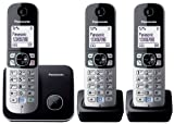 Panasonic KX-TG6813EB Trio DECT Cordless Telephone Set
