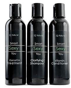Brazilian Keratin Hair Straightening 3pc System~ 6oz.