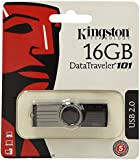 Kingston DataTraveler 101 Gen 2 16GB USB Drive - Black