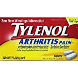 51N2%2BQBZ0zL. SL160 Tylenol Arthritis Pain Caplets, Push & Turn Cap 24 count Reviews