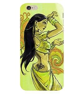 HiFi Designer Phone Back Case Cover Apple iPhone 6 :: Apple iPhone6 ( Beautiful Women Saree Desi Gal )