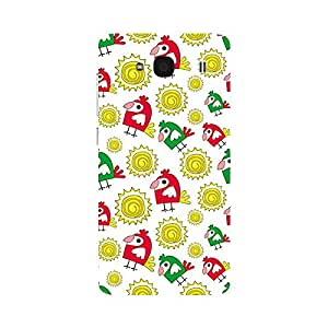 Garmor Designer Plastic Back Cover For Xiaomi Redmi 2S