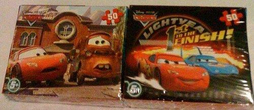 Cheap Cardinal Disney Pixar Cars 50 Piece Mini Puzzles – Set of 2 (B003IWBQSC)