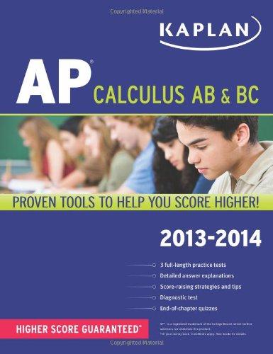 Kaplan Ap Calculus Ab & Bc 2013-2014 (Kaplan Ap Series)