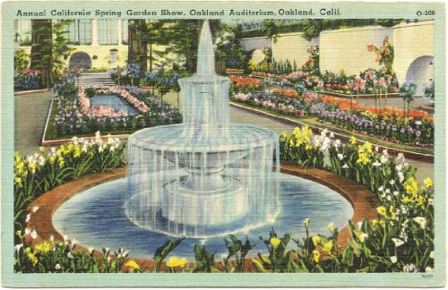 1940s Vintage Postcard - Annual California Spring